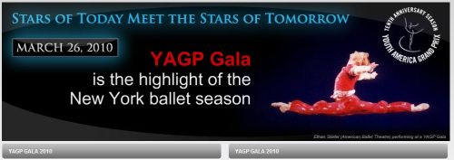 concursos  Youth America Grand Prix YAGP 2011