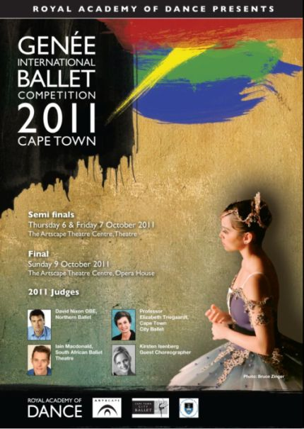concursos  Genée International Ballet Competition 2011  Cape Town