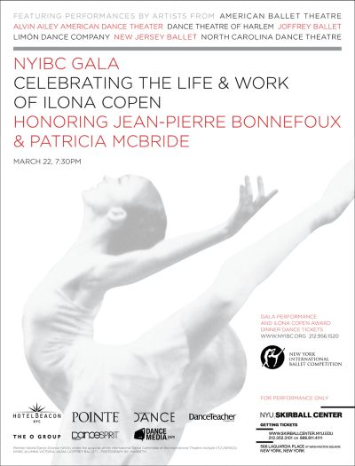 personalidades  The NYIBC Gala Benefit: THE LIFE AND WORK OF ILONA COPEN