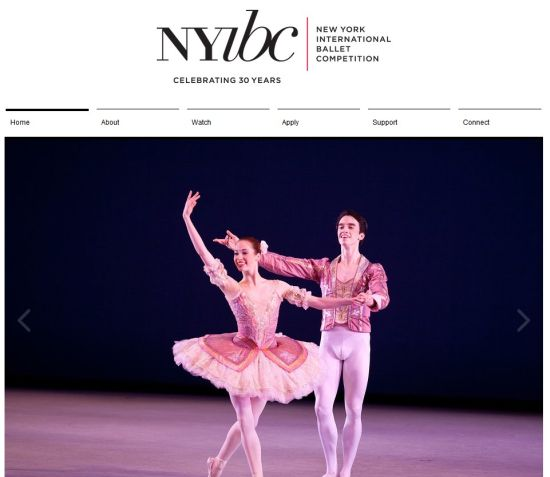 concursos  ANNIVERSARY NEW YORK INTERNATIONAL BALLET COMPETITION