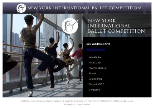 concursos  NYIBCs 11th Competition will take place June 2012