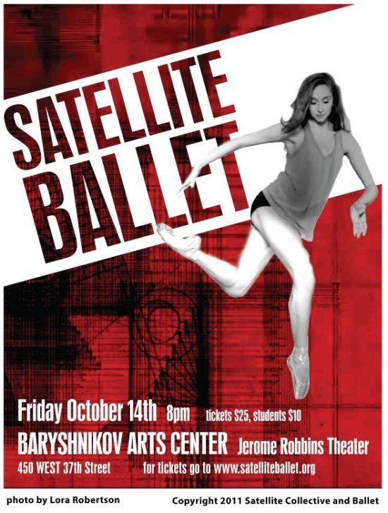 archivo de noticias de danza ballet  NY Premiere by Satellite Ballet, November 2