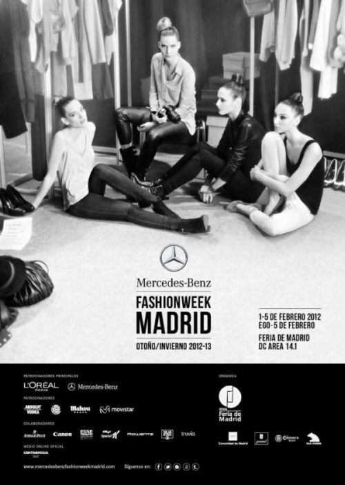 libro de visitas  Danza Ballet Revista   Mercedes Benz Fashion Week Madrid