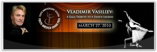 personalidades  Gala and Vladimir Vasiliev Gala at NY City Center