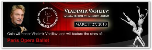 Gala and Vladimir Vasiliev Gala at NY City Center - Danza Ballet