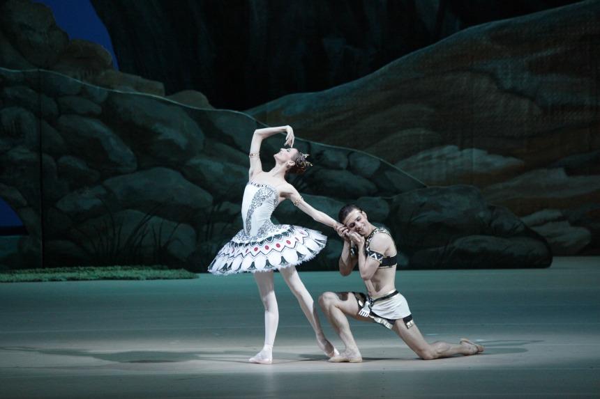 argumentos de ballet  Ballet La Hija del Faraón (La Fille du Pharaon)