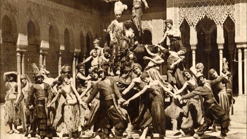 the ballet russes  Los Ballets Russes de Diaghilev y España
