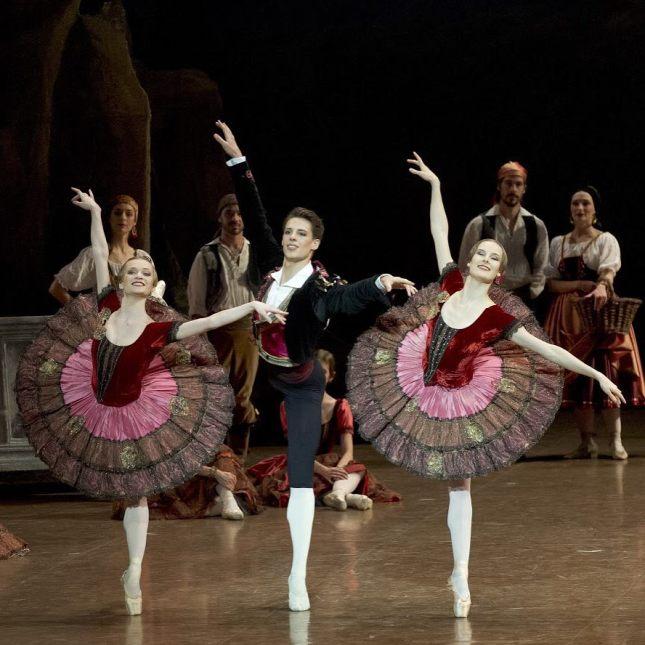 colaboradores  Paquita, Ballet de la Ópera de París