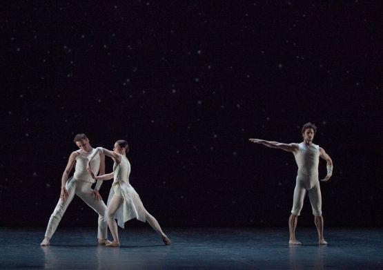 colaboradores  William Forsythe y un Trisha Brown   Ballet de la Ópera de París