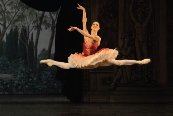 bailarines de ballet  Polina Semionova performs with the Bavarian State Ballet