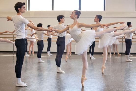 master class  The School of American Ballet