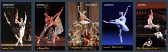 cartelera  Bolshoi Ballet – 50th Anniversary Season