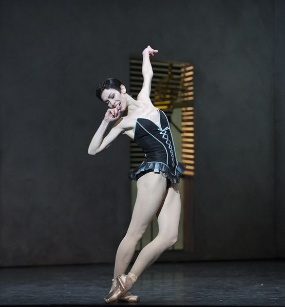 bailarines de ballet  Eleonora Abbagnato nommée Danseuse Étoile