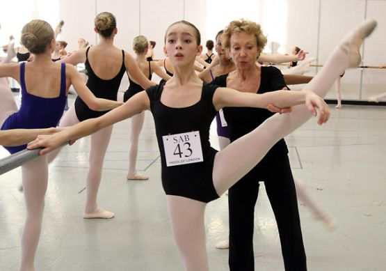 master class  The School of American Ballet announces the Workshop Performance Benefit 2013