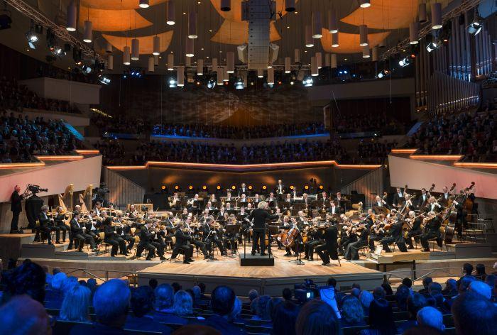 colaboradores  La magnificencia de la Orquesta Filarmónica de Berlín