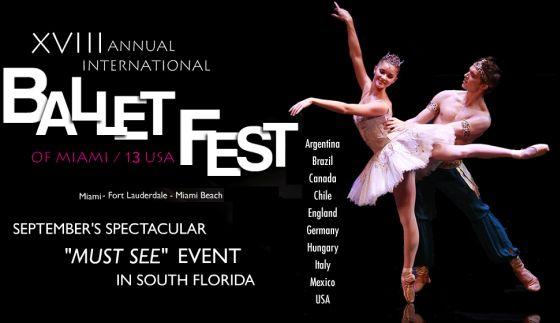 festivales  XVIII Festival Internacional de Ballet de Miami