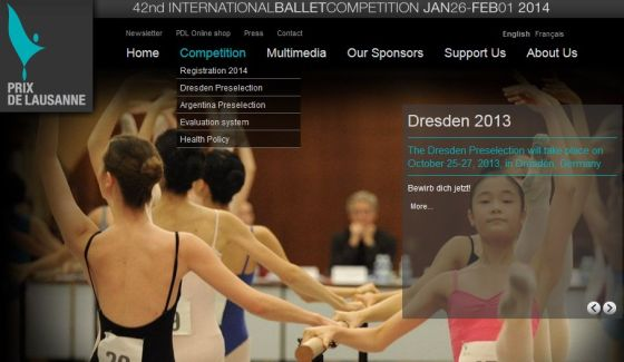 certamenes  The Prix de Lausanne is coming to Dresden