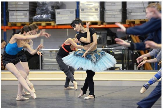 clasica  Le Corsaire by English National Ballet