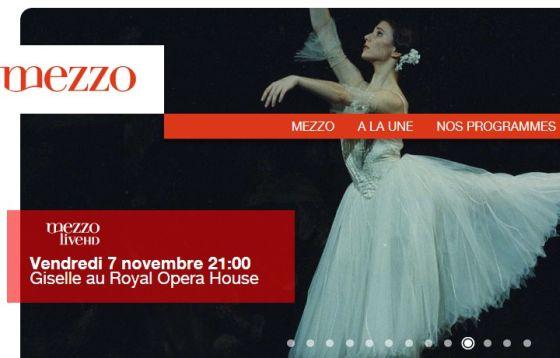 videos  90 retransmisiones del Teatro Real en Mezzo y Mezzo HD