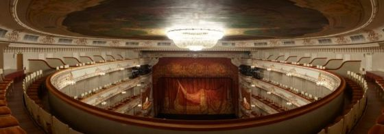 libro de visitas  President of the Russian Federation congratulates Mikhailovsky Theatre