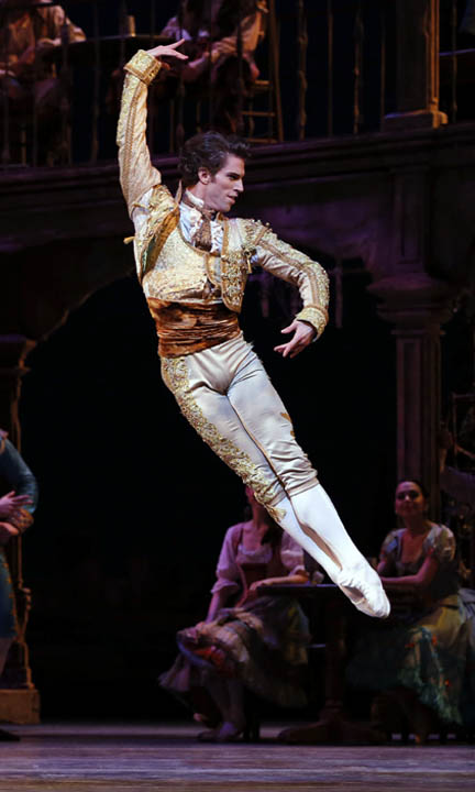 bailarines de ballet  James Whiteside Promoted to Principal Dancer with ABT