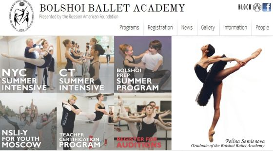 internacional  Moscows Bolshoi Ballet Academy on its 240th Anniversary!