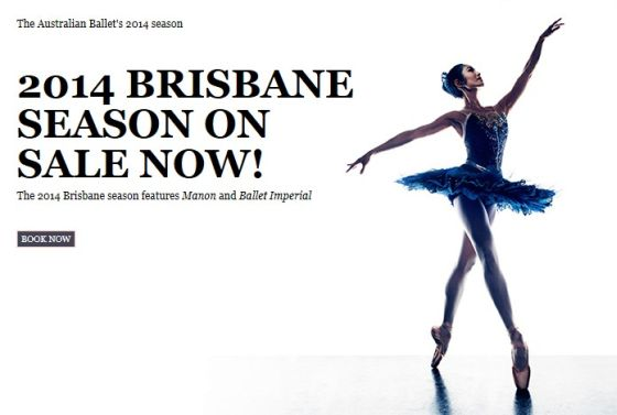 cartelera  The Australian Ballets 2014 Season