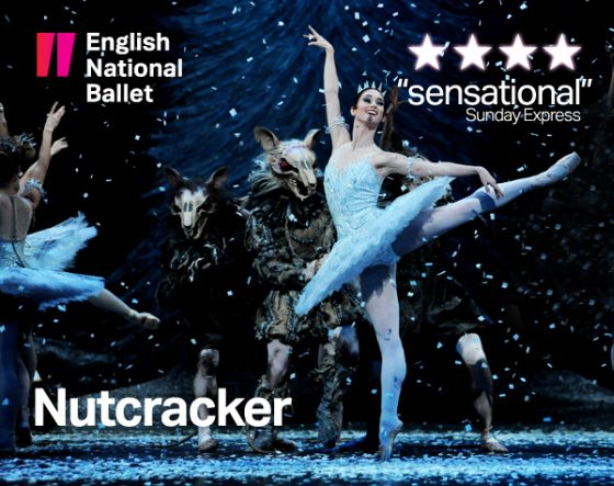 clasica  English National Ballets Nutcracker brings festive magic to London Coliseum