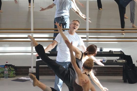master class  Audition The School of The Hamburg Ballet