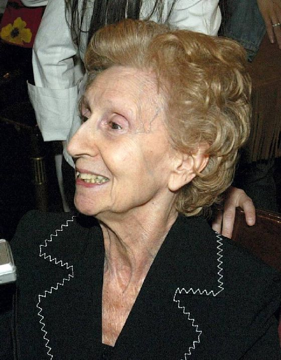 personalidades  María de Ávila (Barcelona, 1920 Zaragoza, 2014)