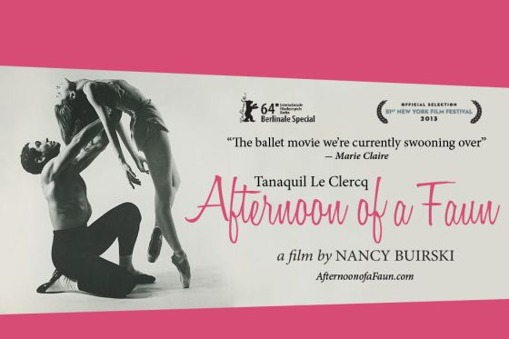 videos  Afternoon of a Faun: Tanaquil Le Clercq