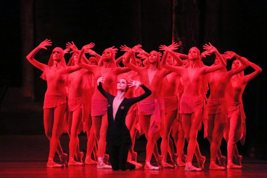 argumentos de ballet  A Legend of Love. Premiere of the Bolshoi Ballet