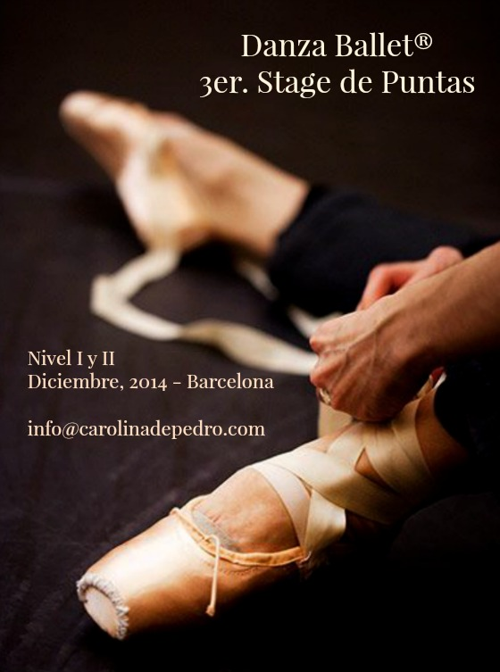 editora  3er. Stage de Puntas Danza Ballet®