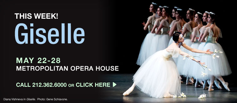 internacional  ABT Alumni to Attend Performance of Giselle