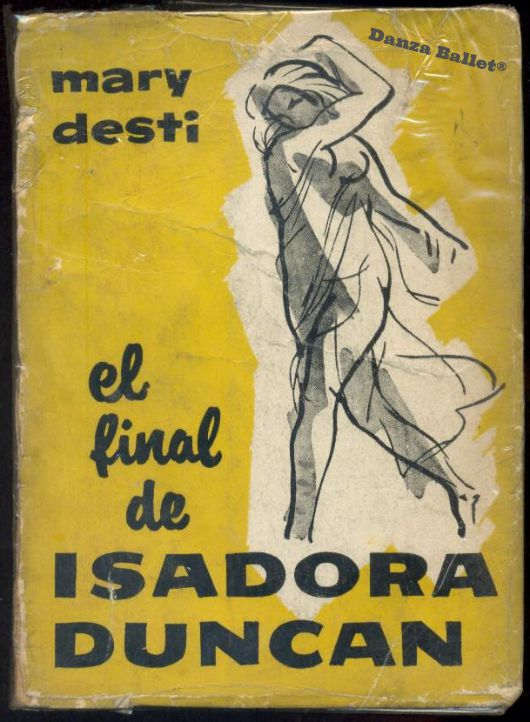 libros  El final de Isadora Duncan de Mary Desti