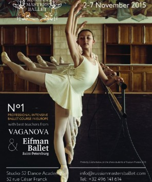 Brussels, Belgium – Russian Masters Ballet Stage