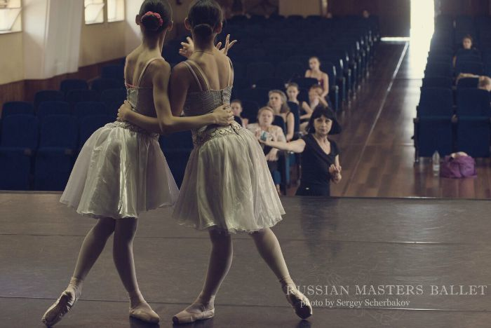 master class  Brussels, Belgium – Russian Masters Ballet Stage