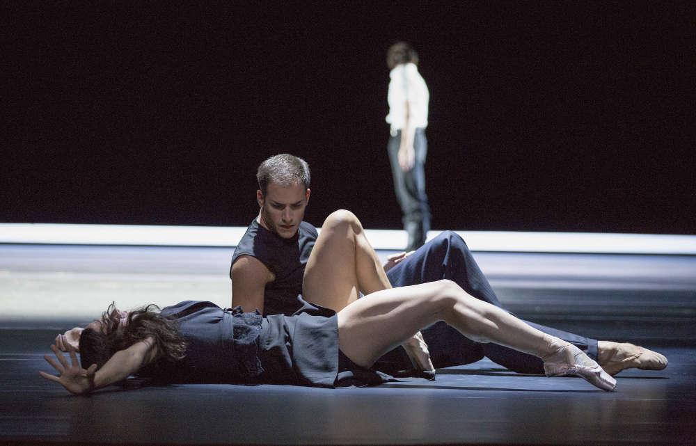 colaboradores  Ballet del Rin, en botines, con la Séptima de Mahler