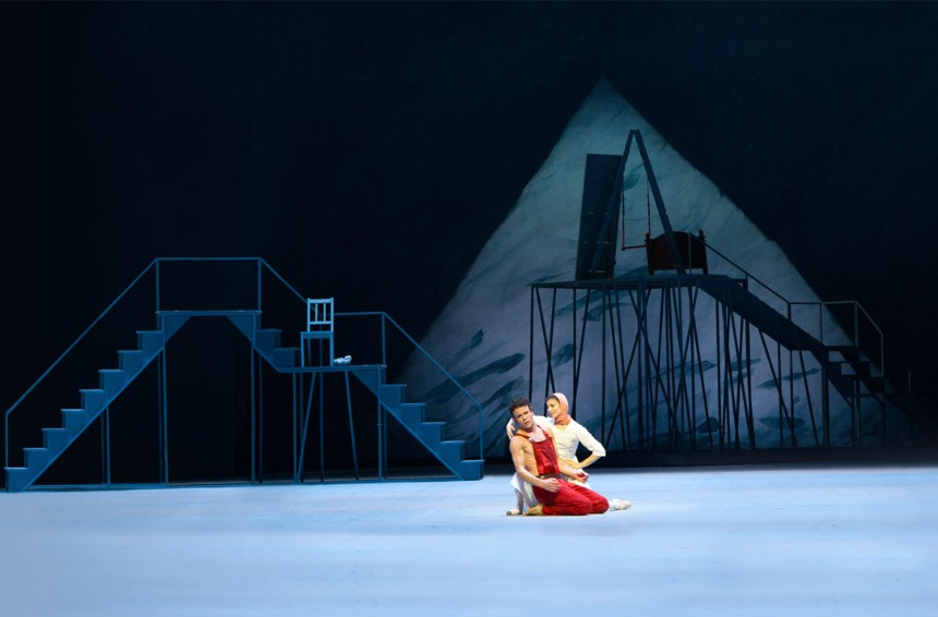 "cartelera  ""Peer Gynt"" to the Historical Stage of the Bolshoi Theatre"