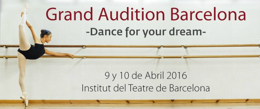 master class  Grand Audition Barcelona 2016