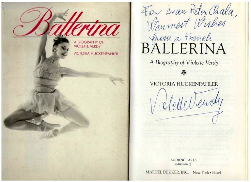 libros  Ballerina: A biography of Violette Verdy by Victoria Huckenpahler