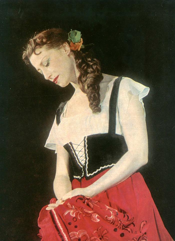 editora bailarines de ballet  Maya Plisétskaya, a un año de su muerte