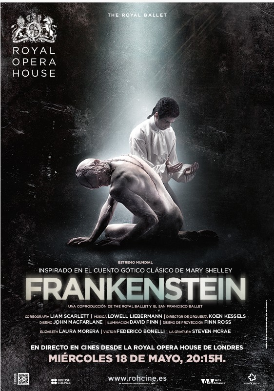 videos bailarines de ballet  FRANKENSTEIN por The Royal Ballet