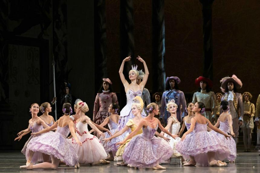 clasica argumentos de ballet  La Belle au Bois Dormant. American Ballet Theatre