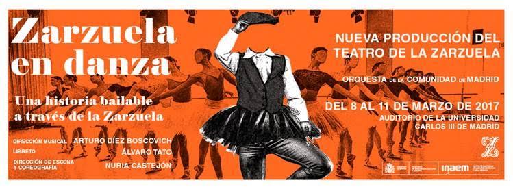 Toda la Música | Zarzuela en Danza   Nueva producción del Teatro de la Zarzuela