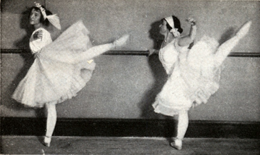 Training for the ballet. Making American Dancers