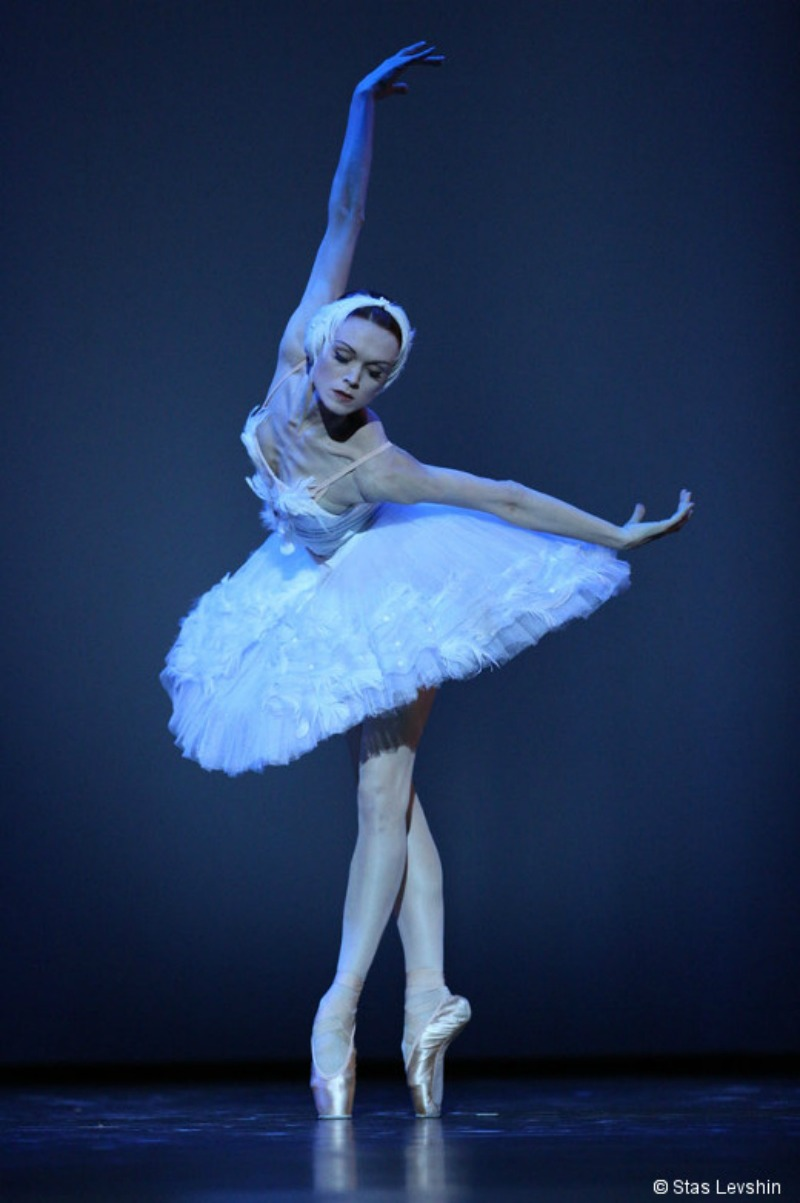 bailarines de ballet  Ulyana Lopatkina announces retirement