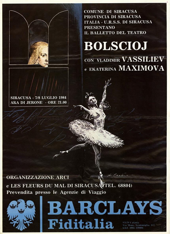 exposiciones  Carteles vintage del Bolshói salen a la luz
