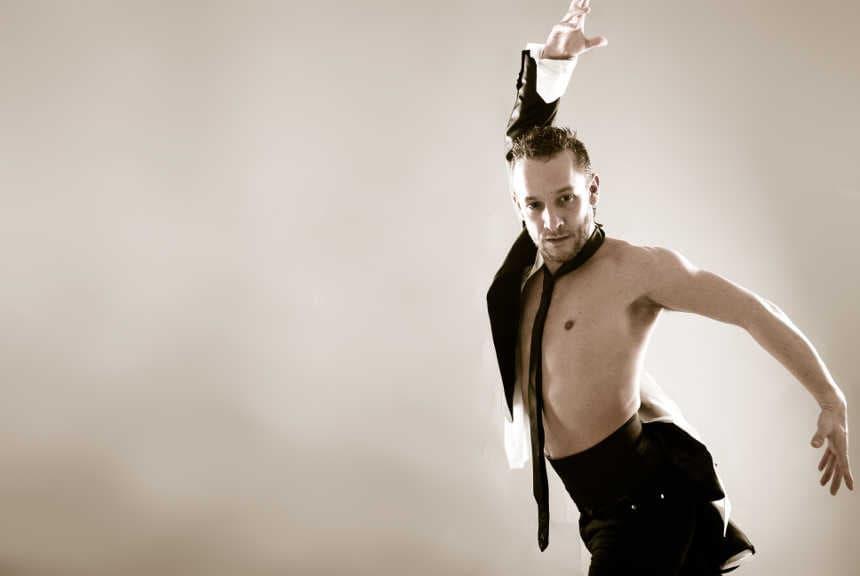 bailarines de ballet  Manuel Liñán y Kukai Dantza, Premios Nacionales de Danza 2017