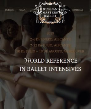 Russian Masters Ballet Camps 2018